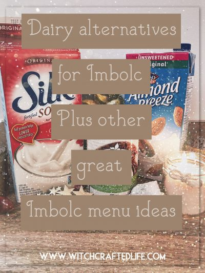 Dairy alternatives for Imbolc