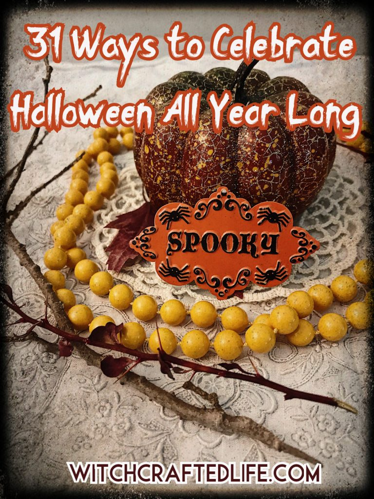 31 Ways to Celebrate Halloween All Year Long