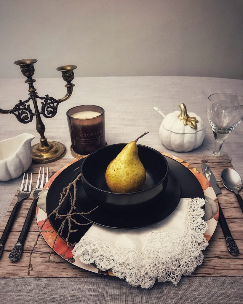 Samhain Dumb Supper Table and Ideas | 31 Ways to Celebrate Halloween All Year Long