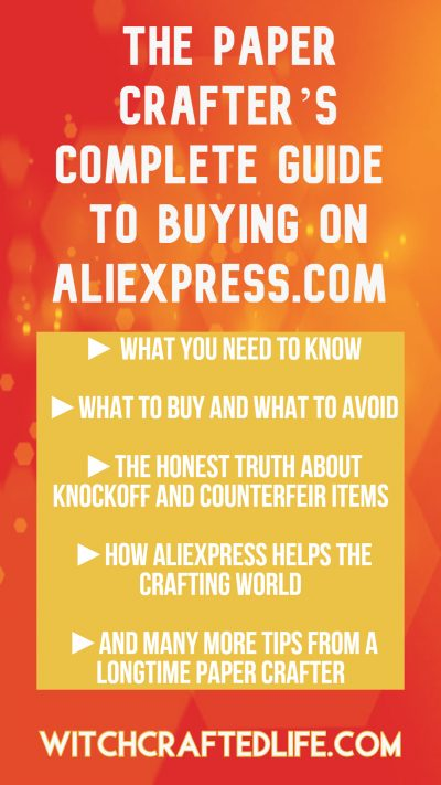 The paper crafter's complete guide to buying on AliExpress