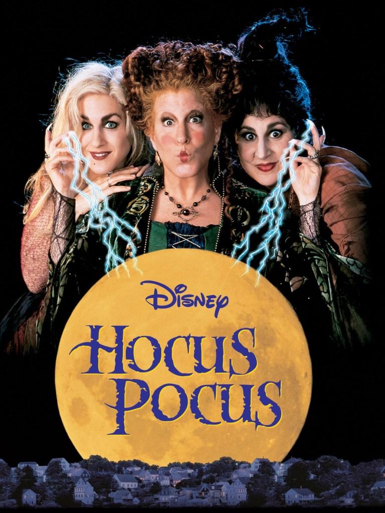 Hocus Pocus Disney movie poster.