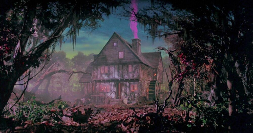 Sanderson Sister Cottage from Disney's 1993 Halloween cult classic, Hocus Pocus.