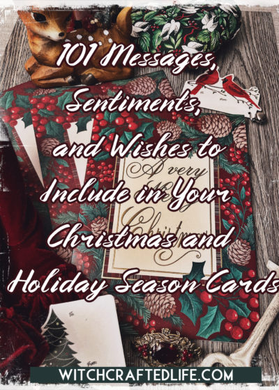 101 messages and sentiments to write in Christmas and holiday cards