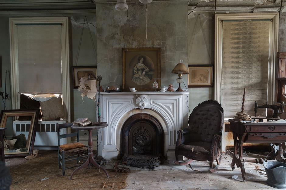 Amazing Abandoned Long Island Farmhouse That Sat Untouched for 40 Years