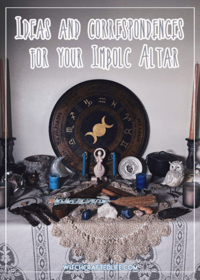 Ideas and correspondences for your Imbolc Altar