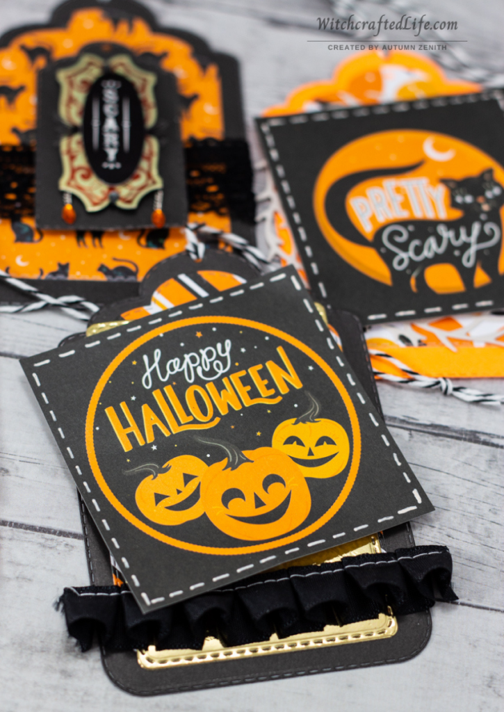 Cute, Fun, and Very Easy to Make Halloween Gift Tag Set