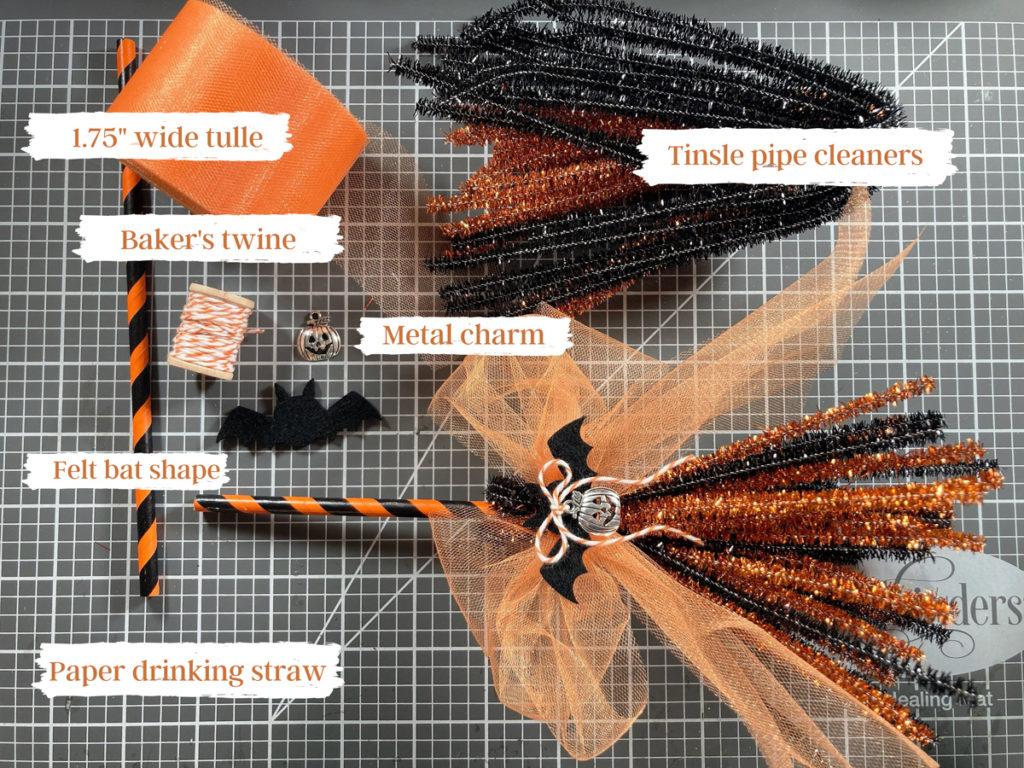 How To Make Mini Brooms -5 DIY Brooms for Halloween
