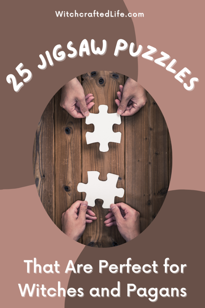 25 Jigsaw Puzzles That Are Perfect for Witches and Pagans