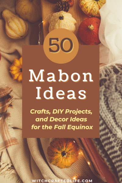 50 crafts, DIY projects, and decor ides that are perfect for the Fall Equinox and Mabon