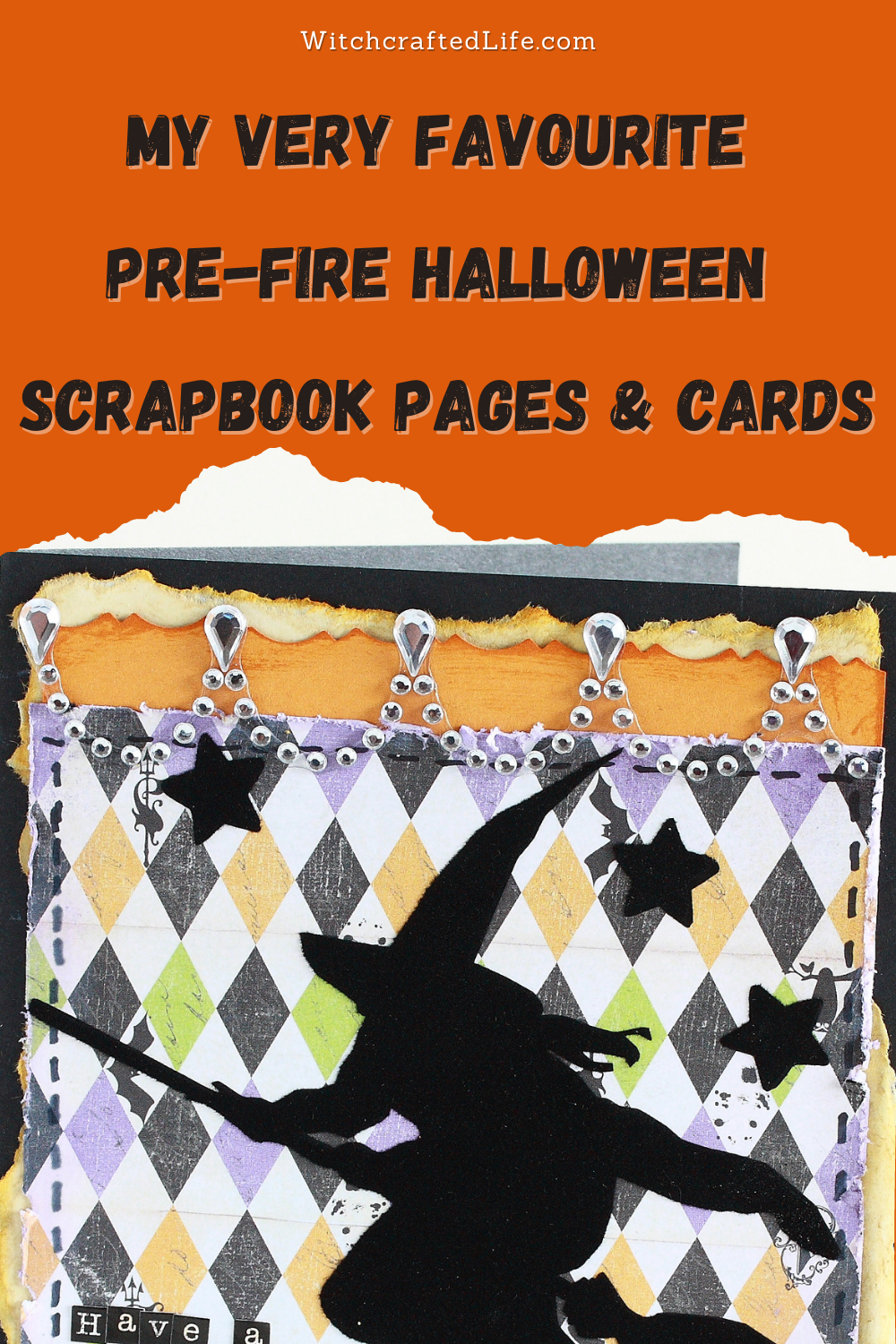 My Very Favourite Pre-fire Halloween Scrapbook Pages and Cards_Projects Created by Autumn Zenith